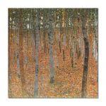 Tablou Arta Clasica Pictor Gustav Klimt Beech Grove 1902 80 x  80 cm