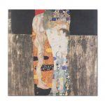 Tablou Arta Clasica Pictor Gustav Klimt The Three Ages of Woman 1905 80 x  80 cm