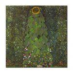 Tablou Arta Clasica Pictor Gustav Klimt The Sunflower 1907 80 x  80 cm