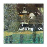 Tablou Arta Clasica Pictor Gustav Klimt Schloss Kammer am Attersee, 1909 80 x  80 cm