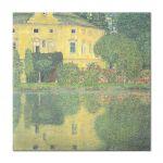 Tablou Arta Clasica Pictor Gustav Klimt Schloss Kammer on the Attersee 1910 80 x  80 cm