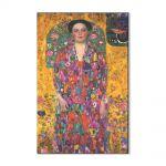 Tablou Arta Clasica Pictor Gustav Klimt Portrait Of Eugenia Primavesi 1913 80 x 120 cm