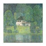 Tablou Arta Clasica Pictor Gustav Klimt Litzlbergerkeller am Attersee 1915 80 x  80 cm