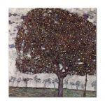 Tablou Arta Clasica Pictor Gustav Klimt Apple Tree 1916 80 x  80 cm