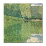 Tablou Arta Clasica Pictor Gustav Klimt Schonbrunner Park 1916 80 x  80 cm