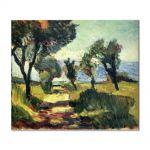 Tablou Arta Clasica Pictor Henri Matisse Olive Trees 1898 80 x 90 cm