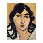 Tablou Arta Clasica Pictor Henri Matisse Laurette with Long Locks 1917 80 x 100 cm