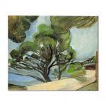 Tablou Arta Clasica Pictor Henri Matisse Landscape with road 1917 80 x 100 cm