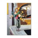 Tablou Arta Clasica Pictor Henri Matisse The Bed in the Mirror 1919 80 x 100 cm