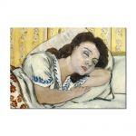 Tablou Arta Clasica Pictor Henri Matisse Portrait of Margurite sleeping 1920 80 x 110 cm