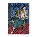 Tablou Arta Clasica Pictor Henri Matisse Woman sitting in a chair 1920 80 x 120 cm