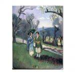 Tablou Arta Clasica Pictor Henri Matisse Conversation under the Olive Trees 1921 80 x 100 cm