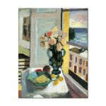 Tablou Arta Clasica Pictor Henri Matisse Flowers in front of a Window 1922 80 x 100 cm