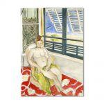 Tablou Arta Clasica Pictor Henri Matisse Seated by a Window 1922 80 x 100 cm