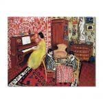 Tablou Arta Clasica Pictor Henri Matisse Pianist and Checker Players 1924 80 x 100 cm