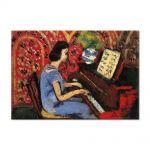 Tablou Arta Clasica Pictor Henri Matisse Woman at the Piano 1924 80 x 120 cm