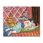Tablou Arta Clasica Pictor Henri Matisse A Nude Lying on her Back 1927 80 x 100 cm
