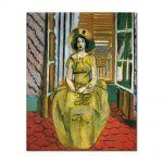 Tablou Arta Clasica Pictor Henri Matisse The Yellow Dress 1931 80 x 100 cm