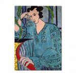 Tablou Arta Clasica Pictor Henri Matisse The Romanian Green Bluse 1939 80 x 100 cm
