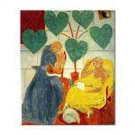 Tablou Arta Clasica Pictor Henri Matisse Two Female Figures and a Dog 1939 80 x 90 cm