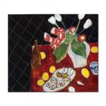 Tablou Arta Clasica Pictor Henri Matisse Tulips and oysters on a black background 1943 80 x 90 cm