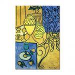 Tablou Arta Clasica Pictor Henri Matisse Interior in Yellow 1946 80 x 100 cm