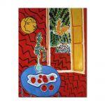Tablou Arta Clasica Pictor Henri Matisse Red Interior. Still Life on a Blue Table 1947 80 x 100 cm