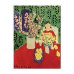Tablou Arta Clasica Pictor Henri Matisse Plum Blossoms, Green Background 1948 80 x 100 cm