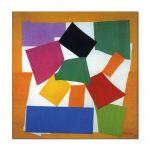Tablou Arta Clasica Pictor Henri Matisse The Snail 1953 80 x  80 cm