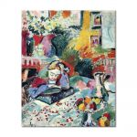 Tablou Arta Clasica Pictor Henri Matisse Interior with a Girl Reading 1905 80 x 100 cm