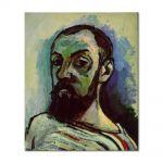 Tablou Arta Clasica Pictor Henri Matisse Self-Portrait in a Striped T-Shirt 1906 80 x 90 cm
