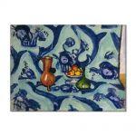 Tablou Arta Clasica Pictor Henri Matisse Still Life with Blue Tablecloth 1906 80 x 110 cm