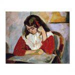 Tablou Arta Clasica Pictor Henri Matisse The Reader, Marguerite Matisse 1906 80 x 100 cm