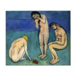 Tablou Arta Clasica Pictor Henri Matisse Bathers with a Turtle 1908 80 x 100 cm