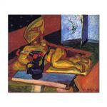 Tablou Arta Clasica Pictor Henri Matisse Sculpture and Persian Vase 1908 80 x 90 cm