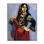 Tablou Arta Clasica Pictor Henri Matisse Spanish Woman with a Tamborine 1909 80 x 100 cm