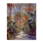 Tablou Arta Clasica Pictor Pierre-Auguste Renoir Algiers the garden of Essai 1881 80 x 100 cm