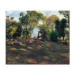 Tablou Arta Clasica Pictor Pierre-Auguste Renoir Landscape 1881 80 x 100 cm