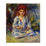Tablou Arta Clasica Pictor Pierre-Auguste Renoir The little algerian girl 1881 80 x 90 cm