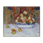 Tablou Arta Clasica Pictor Pierre-Auguste Renoir Still Life with Peaches 1881 80 x 100 cm