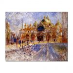 Tablou Arta Clasica Pictor Pierre-Auguste Renoir The Piazza San-Marco 1881 80 x 100 cm