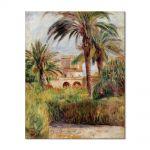Tablou Arta Clasica Pictor Pierre-Auguste Renoir The test garden in Algiers 1882 80 x 100 cm