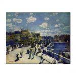 Tablou Arta Clasica Pictor Pierre-Auguste Renoir Pont Neuf 1872 80 x 100 cm