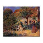Tablou Arta Clasica Pictor Pierre-Auguste Renoir Garden scene in Brittany 1886 80 x 100 cm