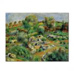 Tablou Arta Clasica Pictor Pierre-Auguste Renoir Breton landscape 1893 80 x 100 cm
