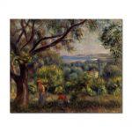 Tablou Arta Clasica Pictor Pierre-Auguste Renoir Cagnes landscape 1895 80 x 100 cm