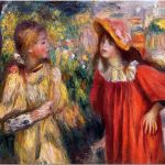 Tablou Arta Clasica Pictor Pierre-Auguste Renoir The conversation 1895 80 x 100 cm