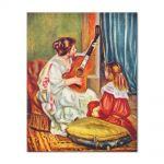 Tablou Arta Clasica Pictor Pierre-Auguste Renoir Woman with a guitar 1897 80 x 100 cm