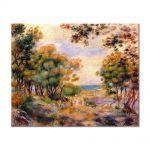Tablou Arta Clasica Pictor Pierre-Auguste Renoir Landscape at Beaulieu 1899 80 x 100 cm