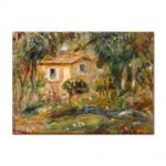 Tablou Arta Clasica Pictor Pierre-Auguste Renoir Landscape Le Cannett 1902 80 x 110 cm